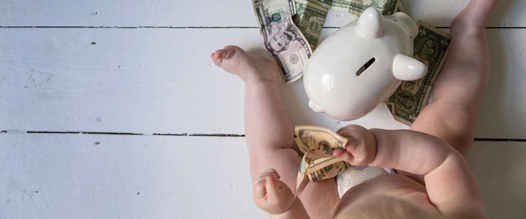Establecimiento de manutención infantil durante el divorcio