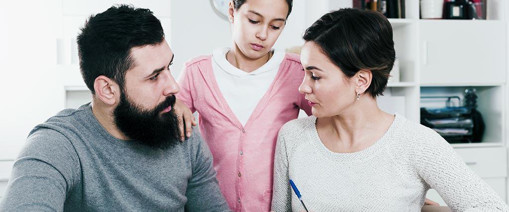 Process of Divorce involving Children